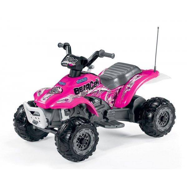 Peg Perego Ηλεκτροκίνητη Μηχανή Corral Bearcat Pink 6V