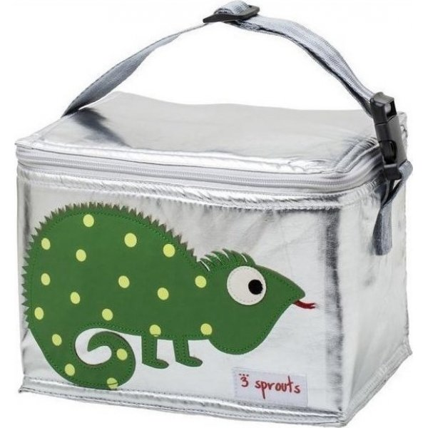 3Sprouts lunch bag iguana