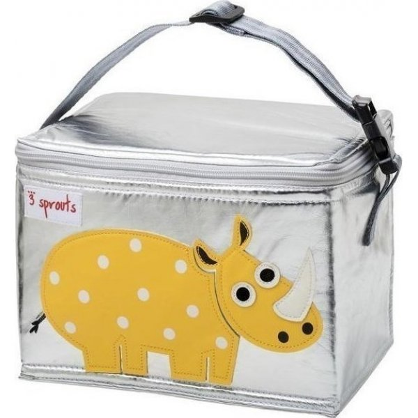 3Sprouts lunch bag rhino