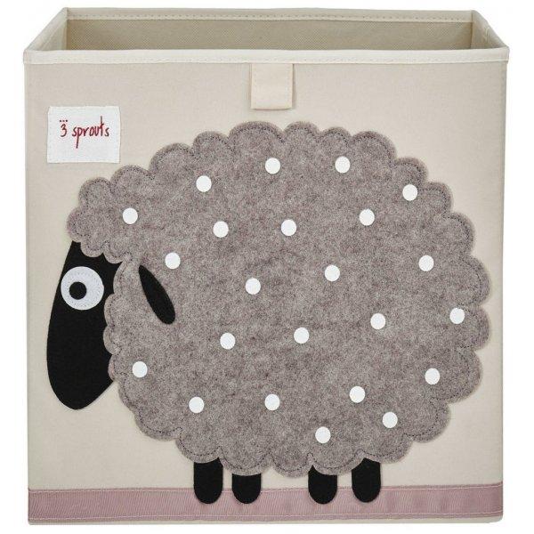 3Sprouts κουτί αποθήκευσης παιχνιδιών Sheep