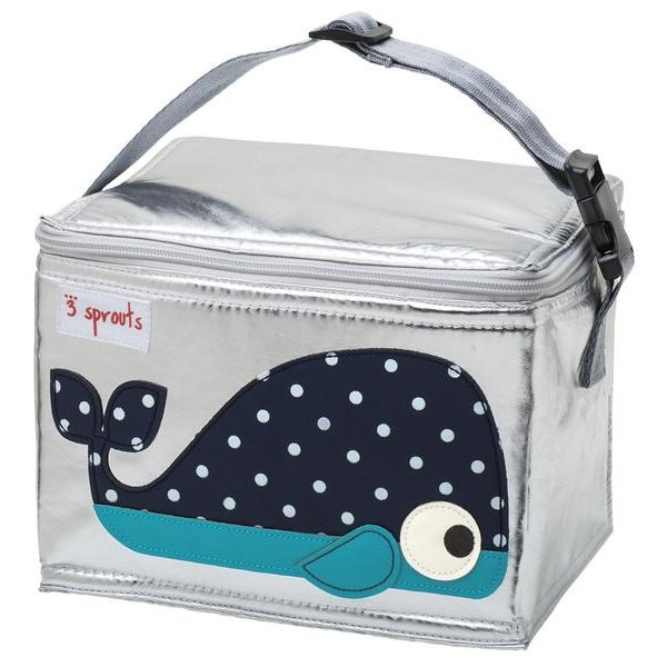 3Sprouts lunch bag whale