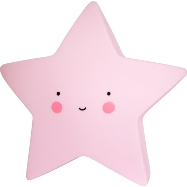 A little lovely company Mini Star pink φωτάκι νυχτός little light led