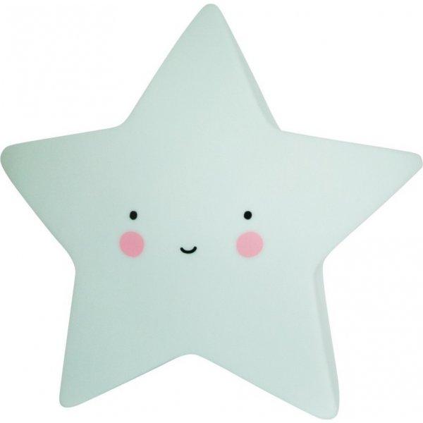 A little lovely company Mini Star mint φωτάκι νυχτός little light led