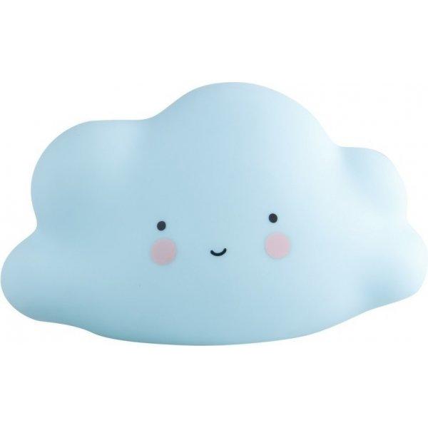 A little lovely company Mini Cloud blue φωτάκι νυχτός little light led