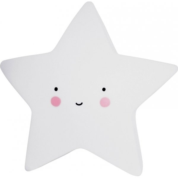 A little lovely company Mini Star white φωτάκι νυχτός little light led