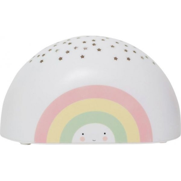 A little lovely company rainbow προτζέκτορας φωτάκι νυχτός light led