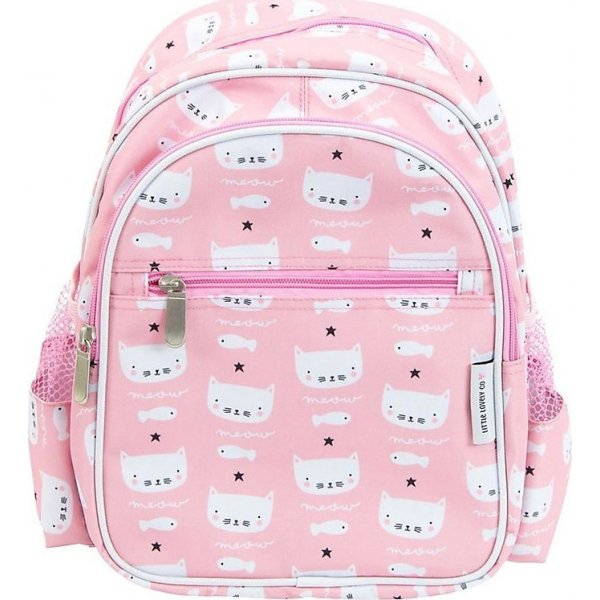 A litle Lovely company Cats Backpack παιδικό σακίδιο πλάτης