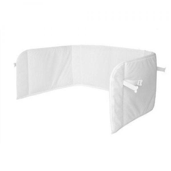AeroSleep Bed Bumper πάντα προστασίας σε λευκό χρώμα