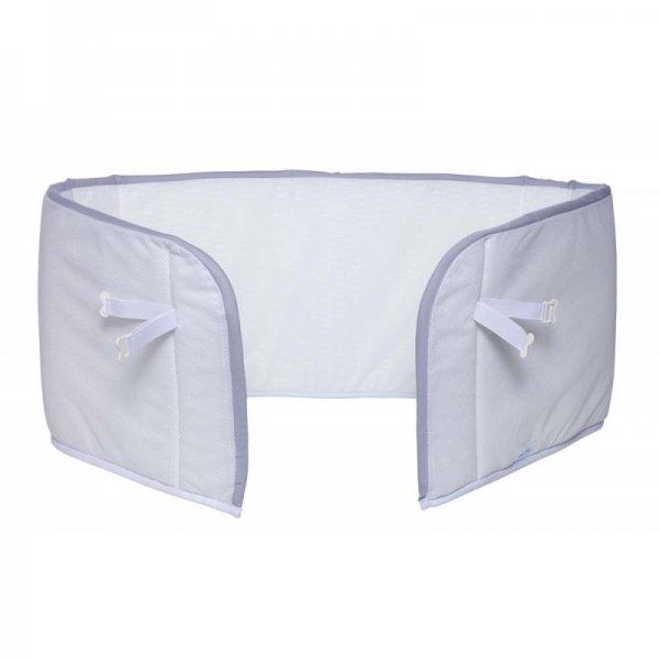 AeroSleep Bed Bumper πάντα προστασίας σε λευκό χρώμα με γκρι