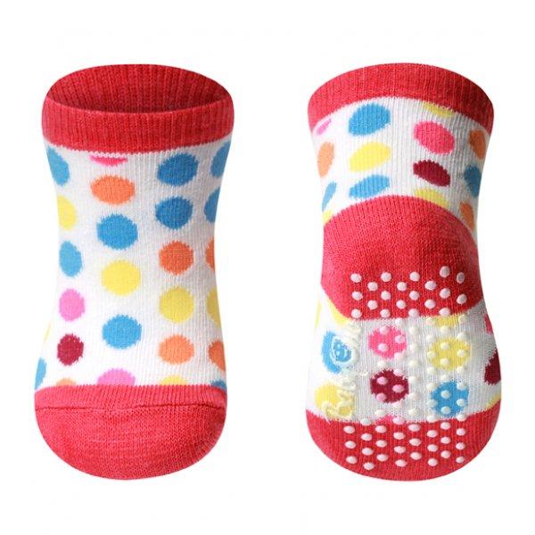 Babyono Anti-slip βαμβακερή κάλτσα  0m+  1τεμ