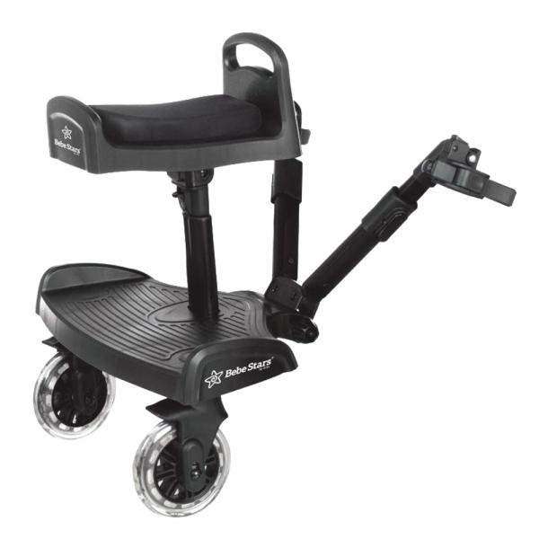 Bebestars Τρέιλερ για 2ο παιδί με κάθισμα Traction