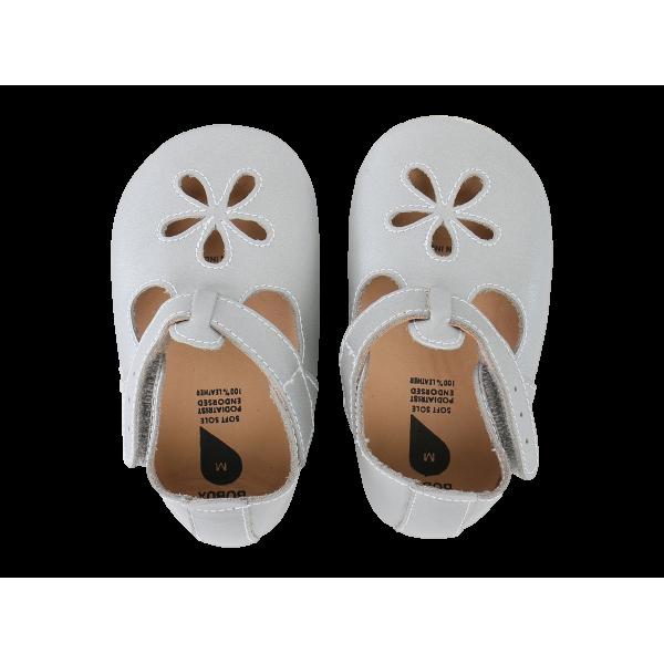 Bobux Silver Girls Sandal βρεφικά παπούτσια L Softsoles