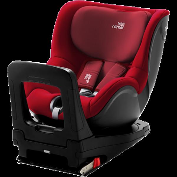 Britax Romer παιδικό κάθισμα αυτοκινήτου dualfix I-size Flame red 40 - 105 cm
