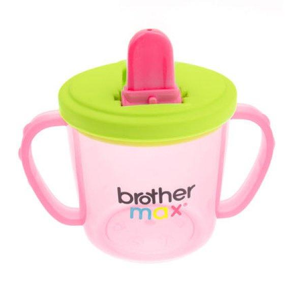 Brother Max Flip and Go εκπαιδευτικό ποτηράκι ροζ
