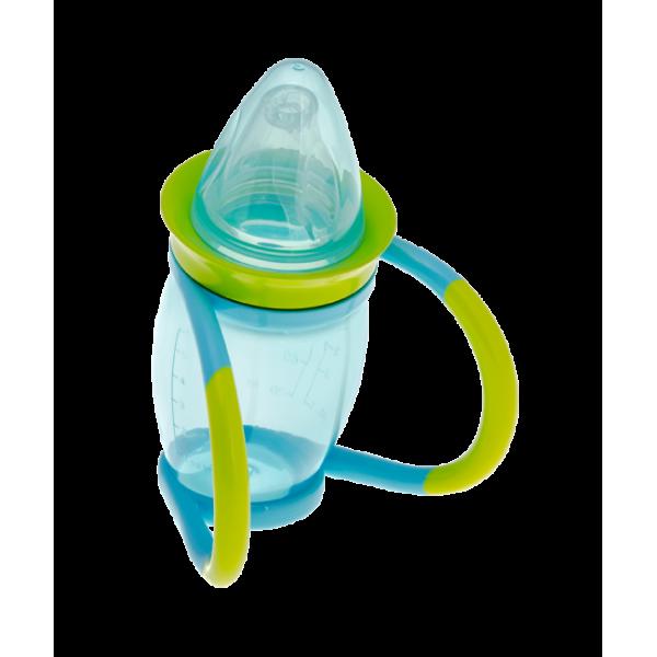 Brother Max 4 σε 1 ποτήρι εκμάθησης υγρών (γουλιά) μπλε/πράσινο