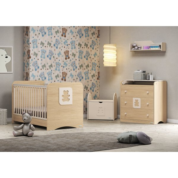 850e9c2fc73 Casababy Cube βρεφικό σετ δωματίου κρεβάτι και σιφονιέρα