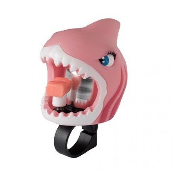 Crazy Safety κουδουνάκι για ποδήλατο pink shark