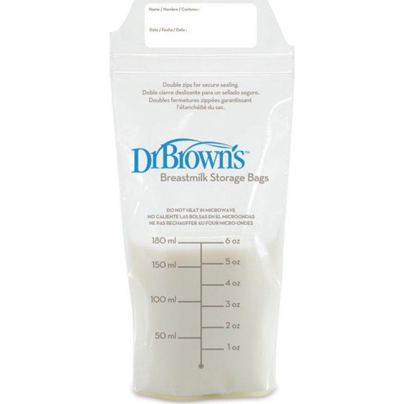 Dr Browns Σακουλάκια φύλαξης μητρικού γάλακτος (25 τεμ.) 4005-GB