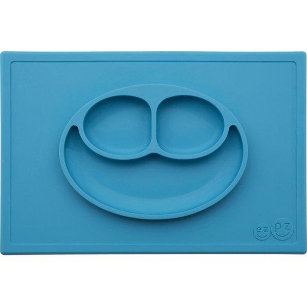 Ezpz Happy mat Δίσκος και πιάτο σε ένα in Blue