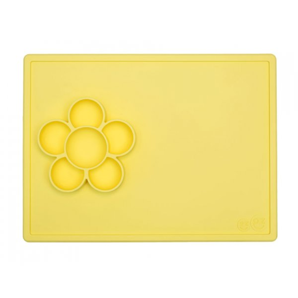 Ezpz Play mat flower Δίσκος σιλικόνης lemon
