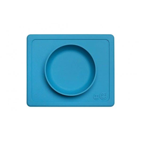 Ezpz Mini bowl Δίσκος και μπολ σε ένα in Blue