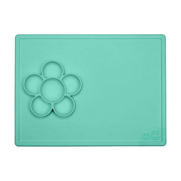 Ezpz Play mat flower Δίσκος σιλικόνης green