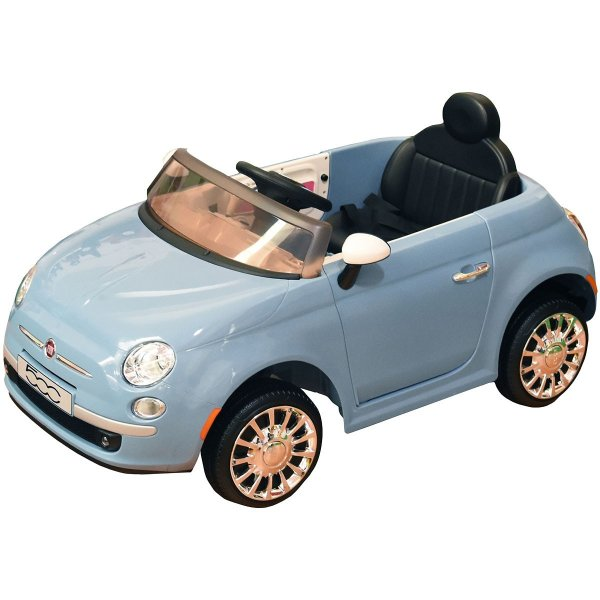 FIAT 500 Light Blue 12V Ηλεκτροκίνητο αυτοκίνητο με τηλεχειριστήριο