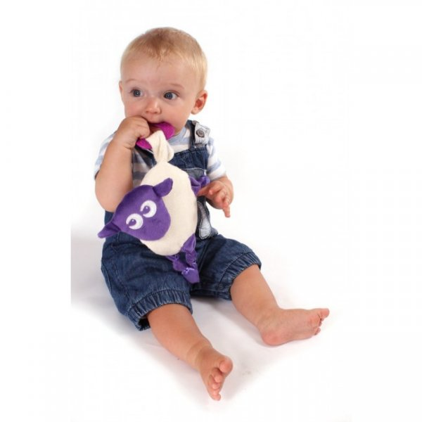 Ewan snuggly αρκουδάκι παρηγοριάς purple