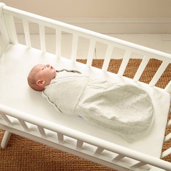 Gro Snug Πάνα αγκαλιάς και υπνόσακος νεογέννητου Grey Marl
