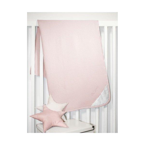 Guy Laroche Heaven pink βρεφική πικέ κουβέρτα 110Χ150cm