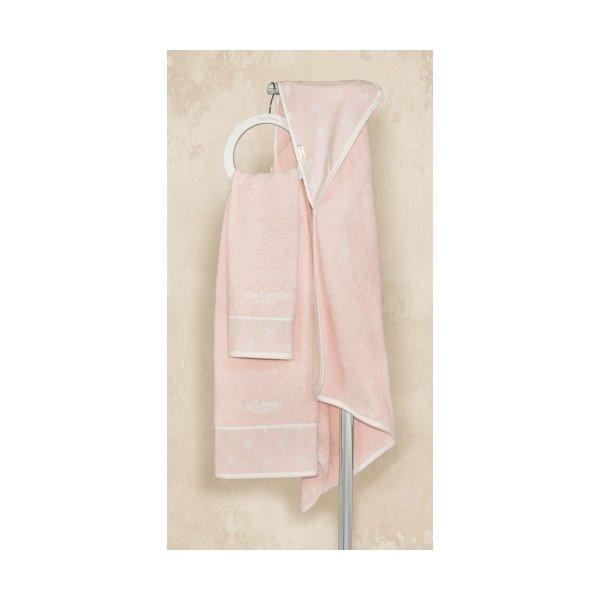 Guy Laroche Heaven pink βρεφικές πετσέτες 2 τεμ