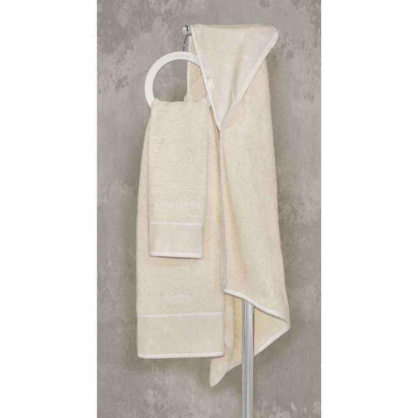 Guy Laroche Heaven natural βρεφικές πετσέτες 2 τεμ