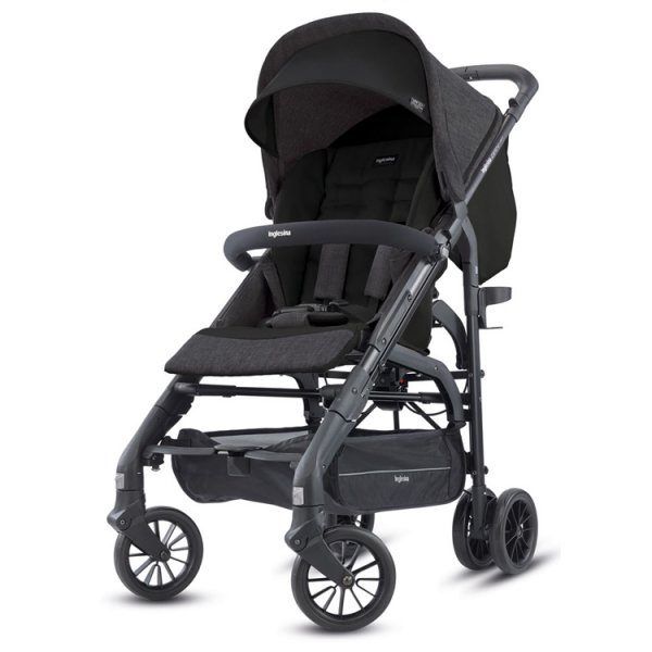 Inglesina Zippy light παιδικό καρότσι volcano black