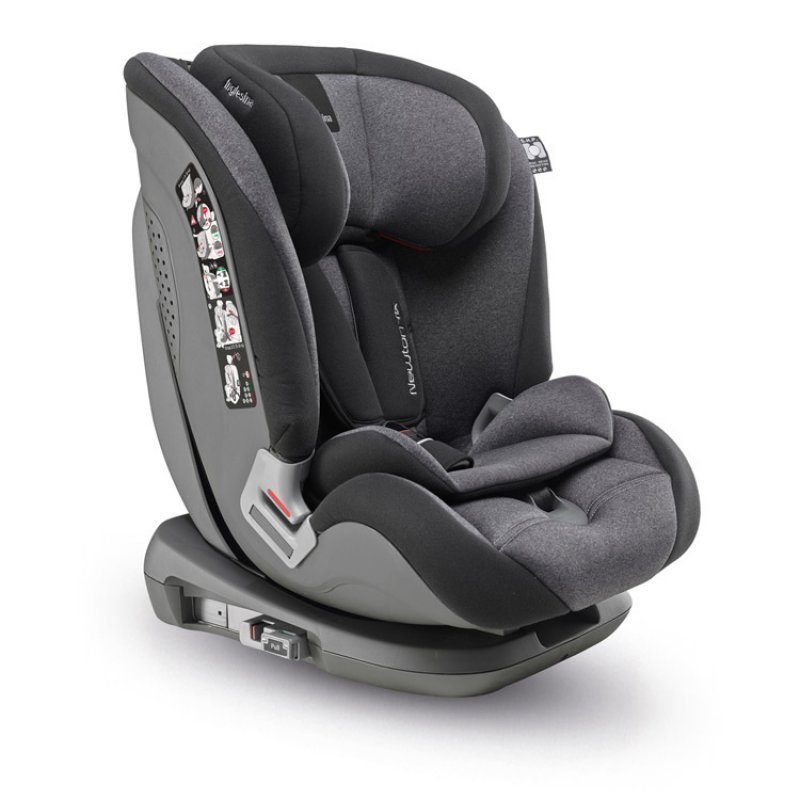 Inglesina  παιδικό κάθισμα αυτοκινήτου Newton I-fix Group 1/2/3 black