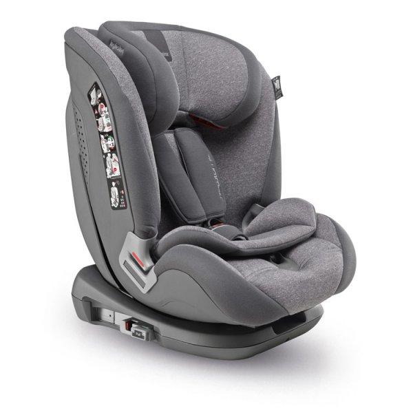 Inglesina  παιδικό κάθισμα αυτοκινήτου Newton I-fix Group 1/2/3 grey