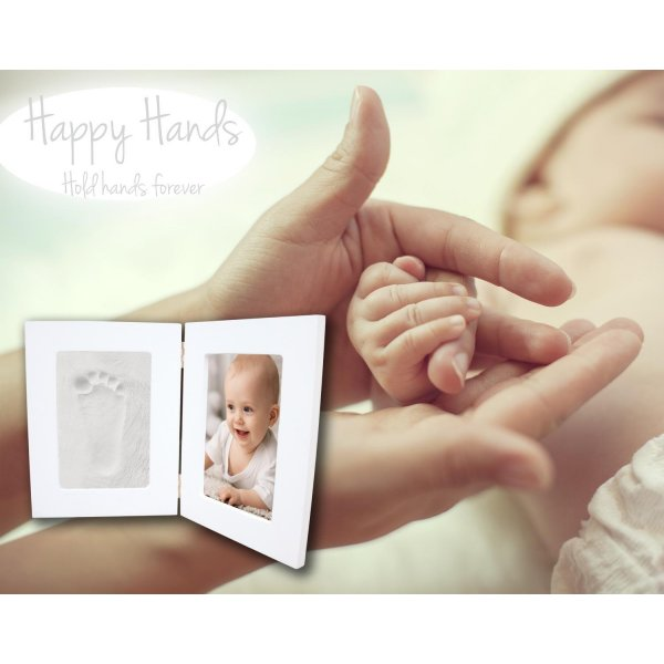 Xplory Happy Hands Double Frame White