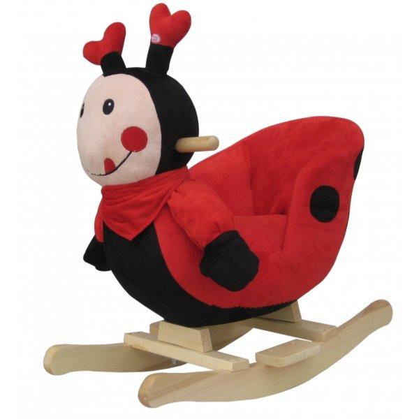 Just baby Rocker Ξύλινο κουνιστό ζωάκι ladybug