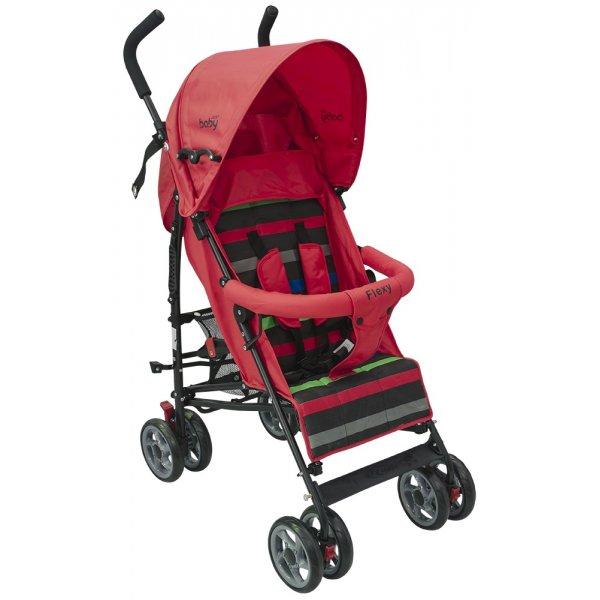 Just baby καρότσι μπαστούνι Flexy Red