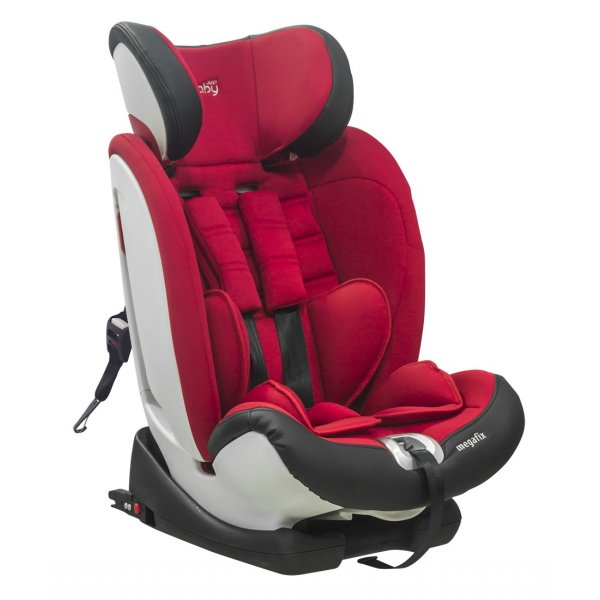 Just baby Megafix παιδικό κάθισμα αυτοκινήτου 9-36 κιλά red