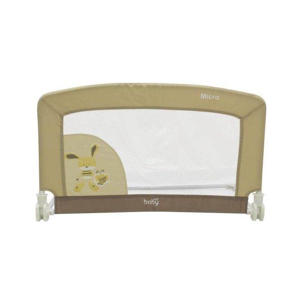 Just Baby Micro Προστατευτική Μπαριέρα 90x53x46cm Beige