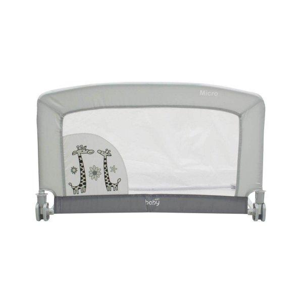 Just Baby Micro Προστατευτική Μπαριέρα 90x53x46cm Grey