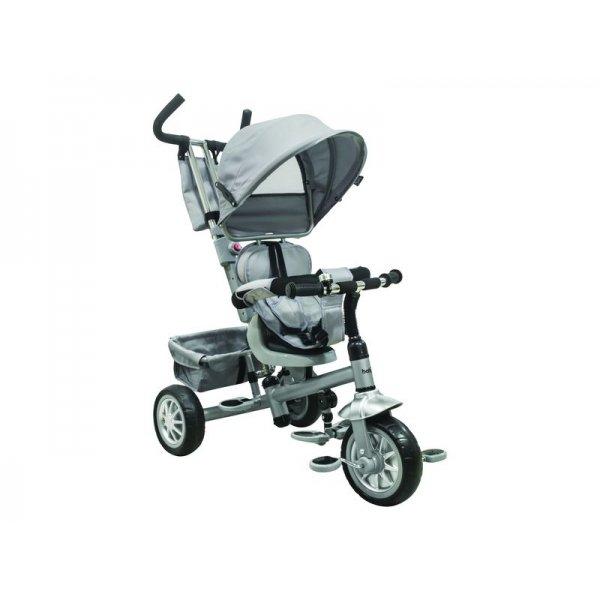 Just baby spin τρίκυκλο ποδηλατάκι με περιστρεφόμενο κάθισμα grey