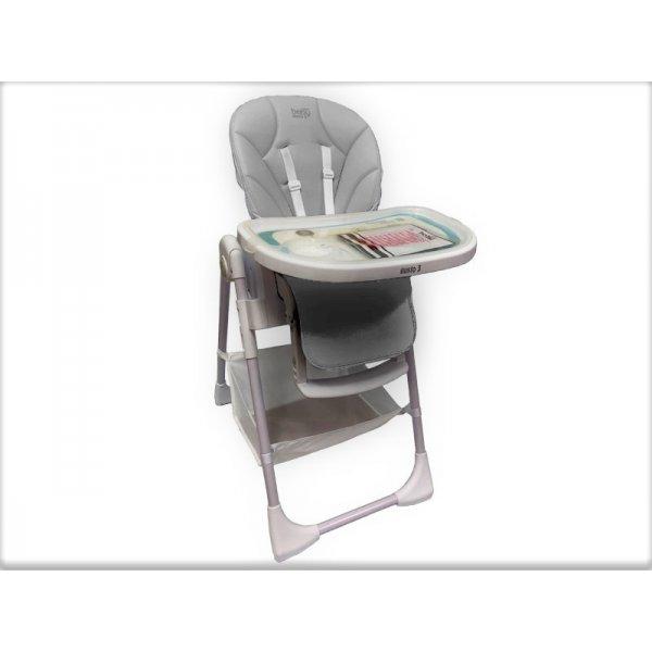 JustBabyGusto 3 Καρέκλα Φαγητού grey