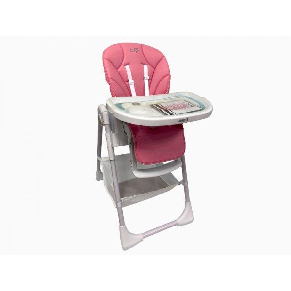 JustBaby Gusto 3 Καρέκλα Φαγητού pink