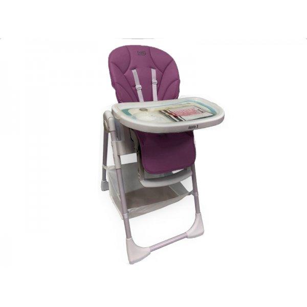 JustBaby Gusto 3 Καρέκλα Φαγητού Purple