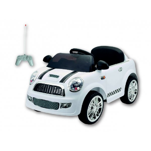Mg Toys Ηλεκτροκίνητο αυτοκίνητο Mini 6v white