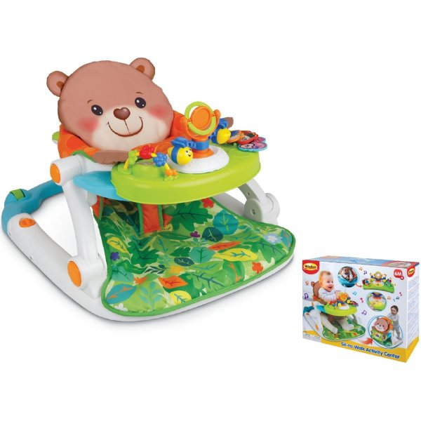 Mg Toys Περπατούρα- Κέντρο Δραστηριοτήτων Sit-to-Walk 6M+