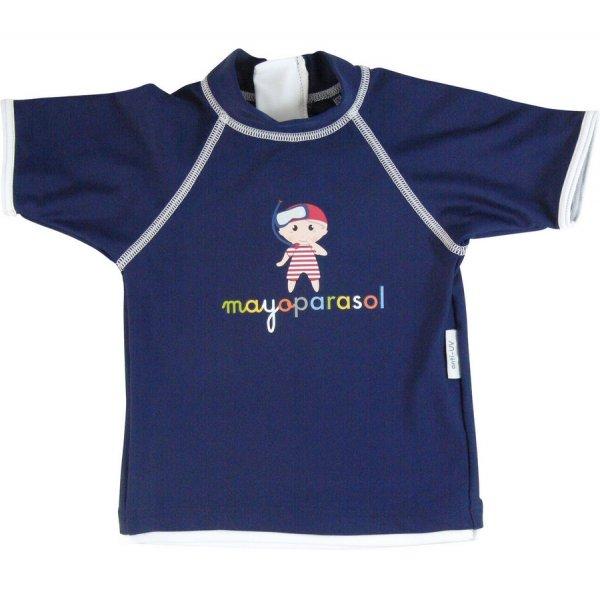 Mayoparasol t-shirt short sleeves αντηλιακό μπλουζάκι θαλάσσης Pirate Boy blue