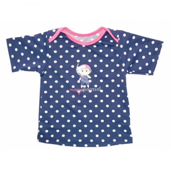 Mayoparasol t-shirt short sleeves αντηλιακό μπλουζάκι θαλάσσης Marinella Girl