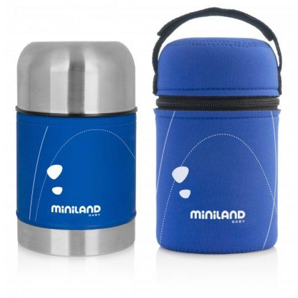 Miniland Θερμός φαγητού food soft thermo blue 600